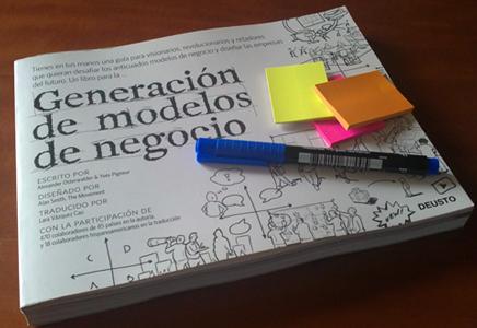 Lienzo Visual en la Generación de Modelos de Negocio