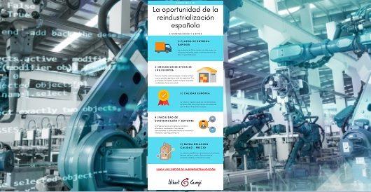La oportunidad de la reindustrialización española
